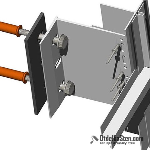 Крепеж для вентилируемых фасадов – прочность несущей конструкции
