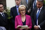 Andrea Leadsom quits leadership race