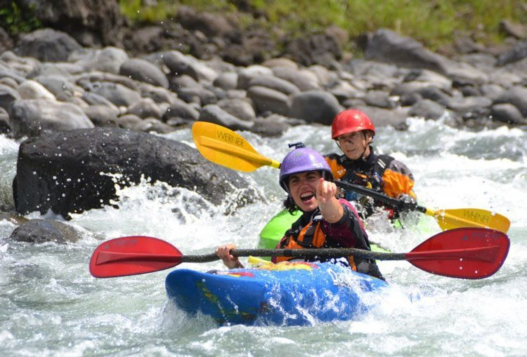 White water kayak for you