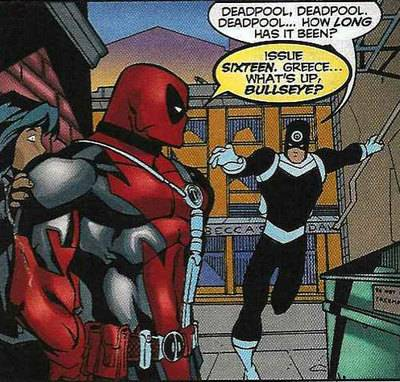 Deadpool's Previous Issue References