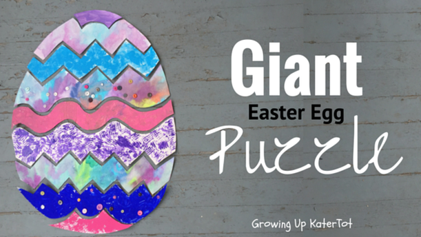 Giant Easter Egg Puzzle- Growing Up KaterTot