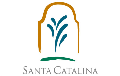 Logo santa catalina con texto
