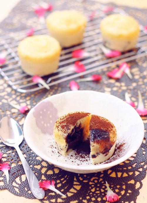 Biến tấu hấp dẫn với bánh Lava cupcake - 8