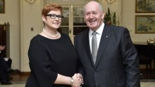 Marise Payne sworn in as Minister for Defence
