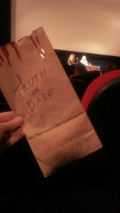 truth or dare sick bag