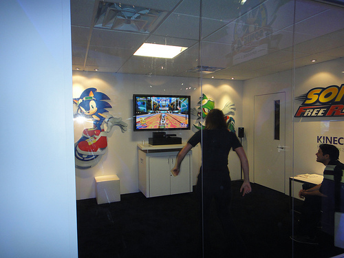 Sonic Free Riders Demo - E3 2010