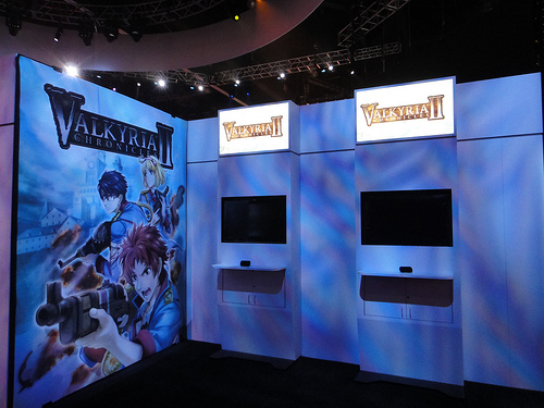 Valkyria Chronicles Booth