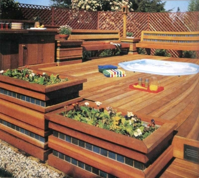 Outdoor Deck For Relaxation: Deck Decorating Ideas on Budget