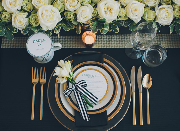 graphic black white pattern wedding modern (29)