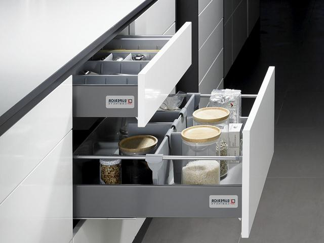 Image of: Kitchen Base Cabinets with Drawers
