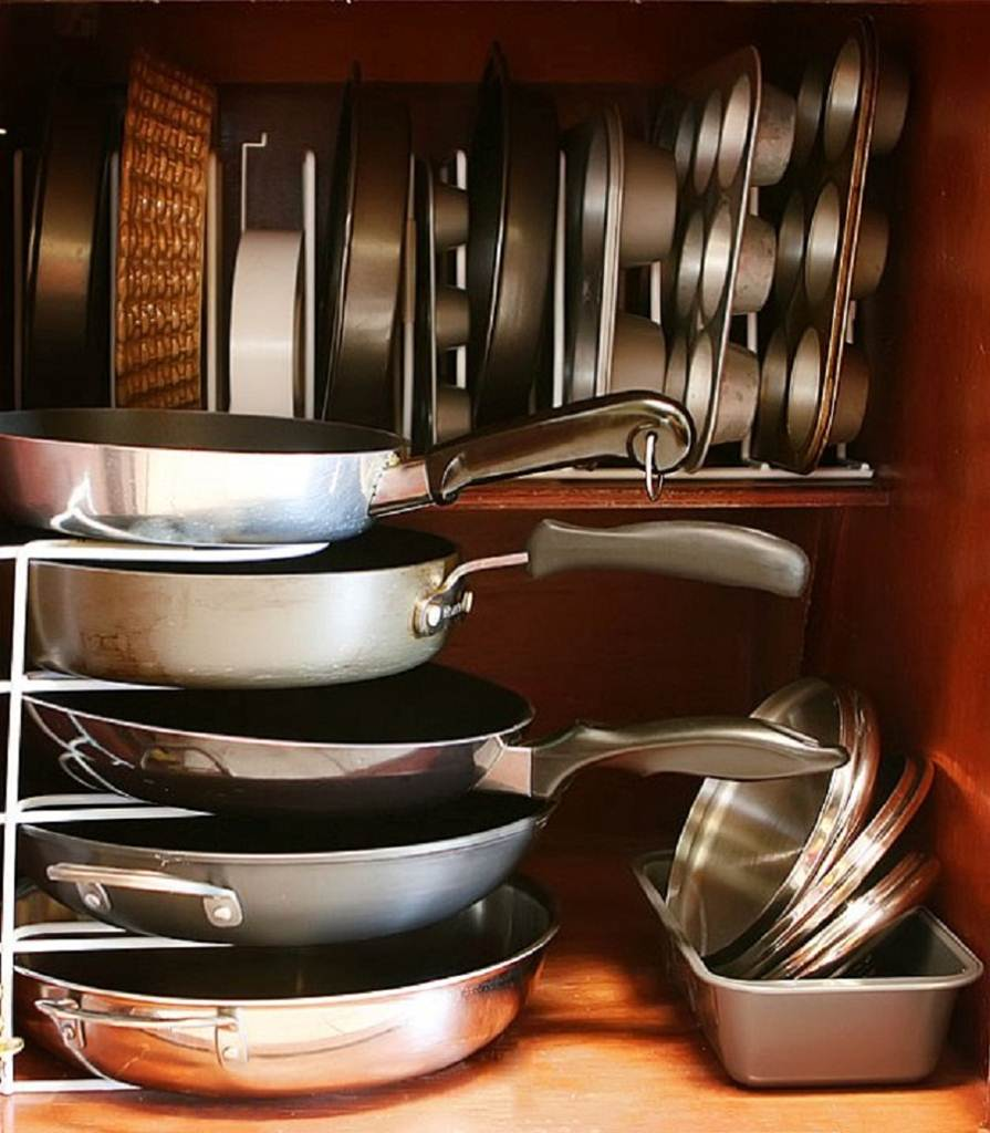 Image of: Organizers for Kitchen Cabinets