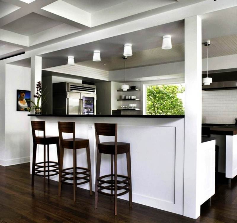 Image of: Kitchen Counter Stools Swivel