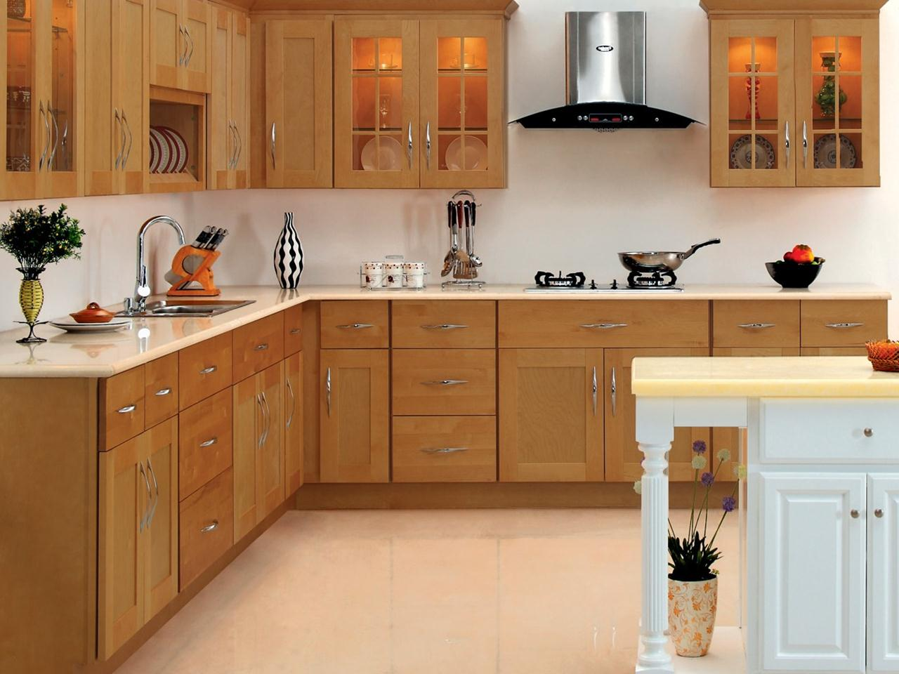 Image of: Unfnished Kitchen Base Cabinets