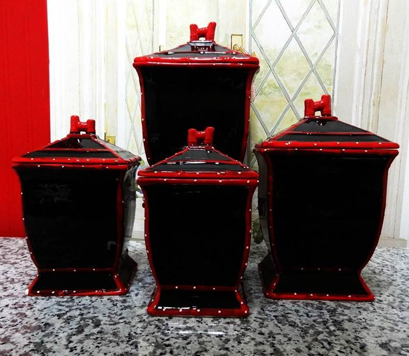 Image of: Kitchen Canister Sets Pic
