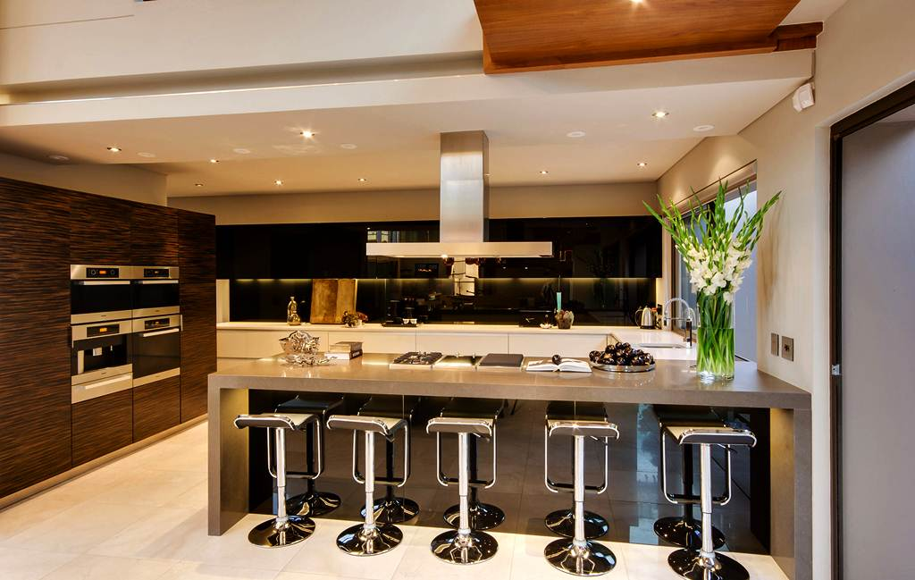 Image of: Backless Kitchen Counter Stools