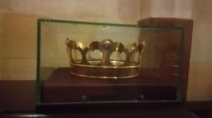 Karališkosios karūnos kopija. Kur originalai, niekas nežino.