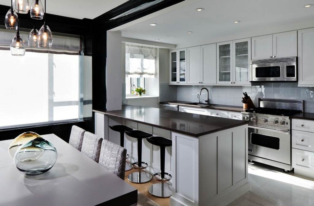 Image of: Modern Kitchen Counter Stools