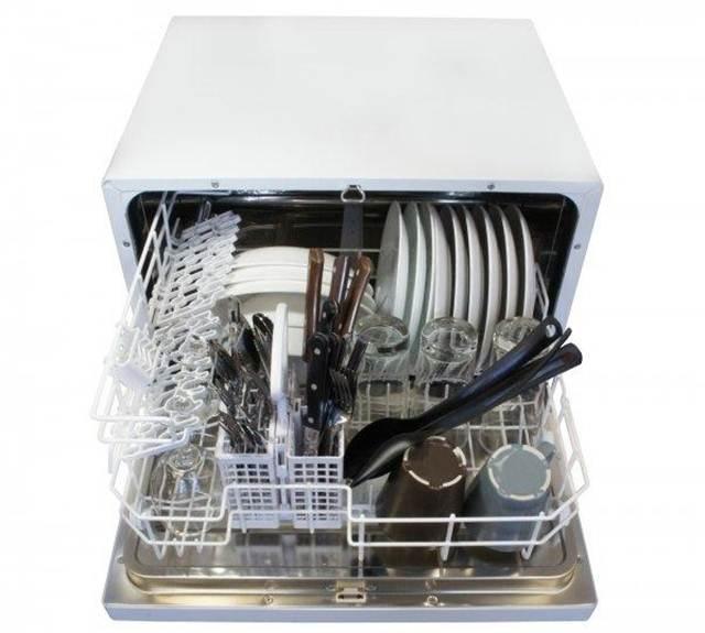 Image of: Sunpentown Countertop Dishwasher