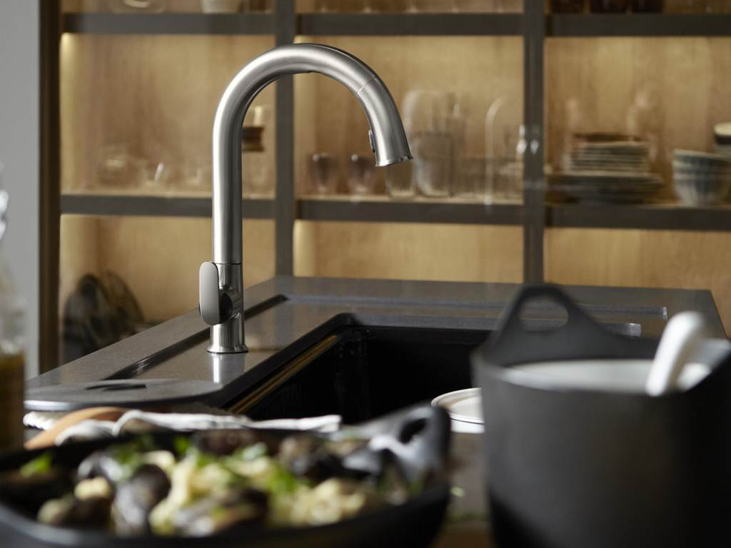 Image of: Kohler Kitchen Faucet Repair