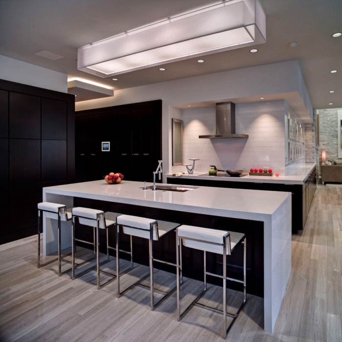 Image of: Modern Kitchen Counter Stools 2