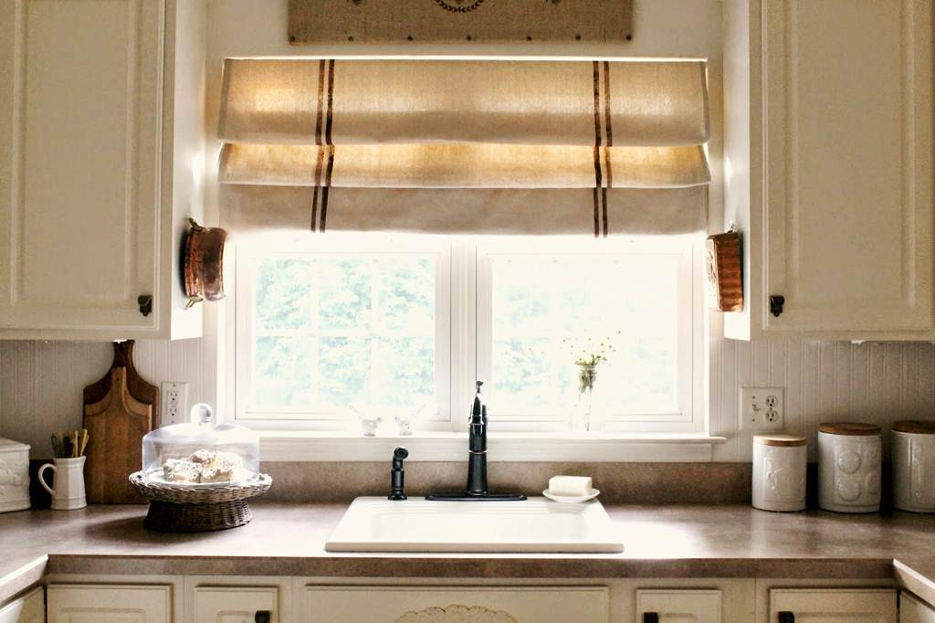 Image of: Kitchen Valance Curtains