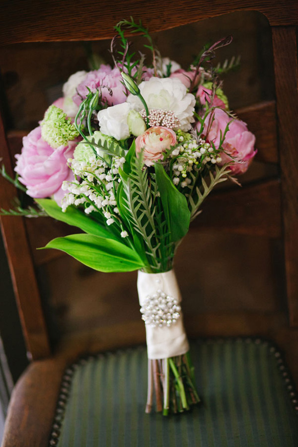 Brix Emerald Wedding in Vancouver - pink rustic wedding in a stable 6