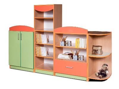Набор шкафов для игровой комнаты