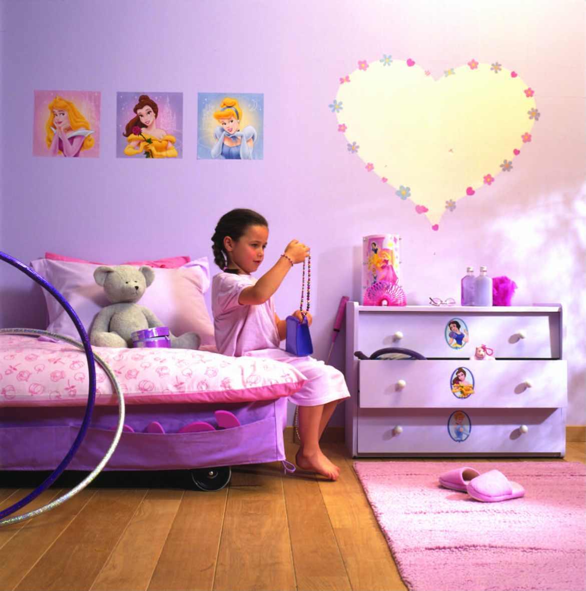 Dětský pokoj - Princezna
