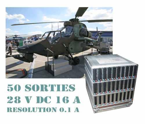 Banc de charge 28 V DC 16 A