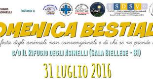 """Biella: domani al Rifugio degli Asinelli sarà """"Domenica Bestiale"""""""