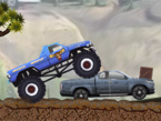 CALATORIE CU MONSTER TRUCK