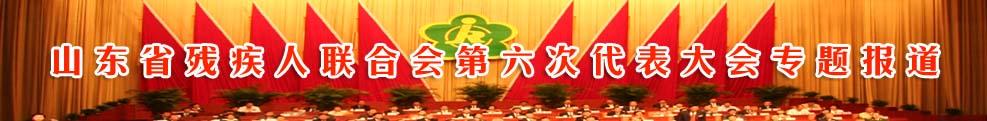 山东省残疾人联合会第六次代表大会