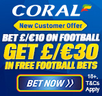 £30 Free Bets