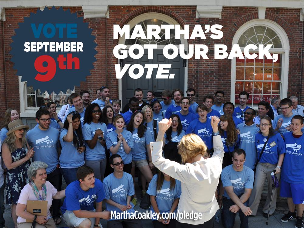 Martha's got our back