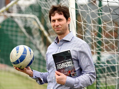Dr Kevin Dixon, co-editor of 'Studying Football'.. Link to New book anlayses the history of corruption in football.