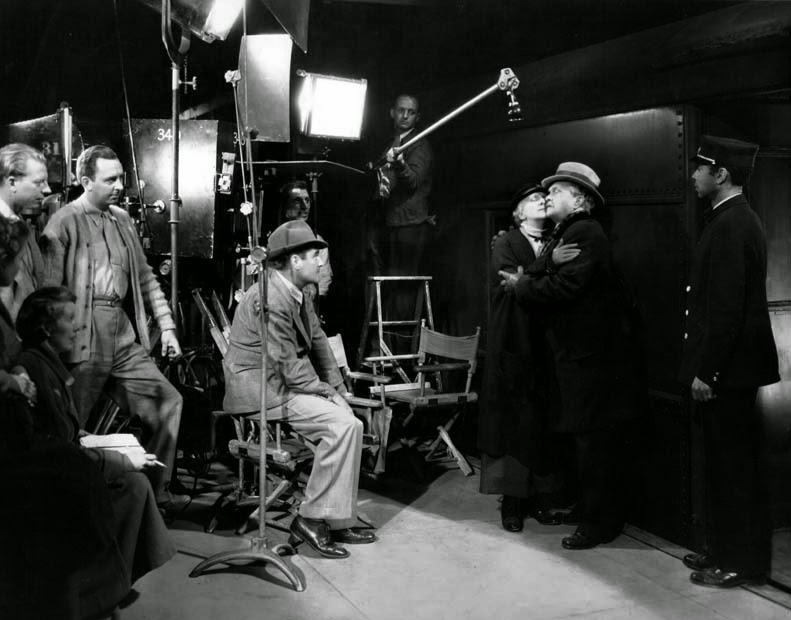 McCarey directing Bondi and Moore