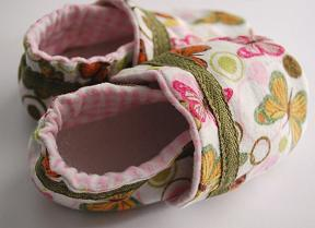 Soft Baby Shoes Tutorial