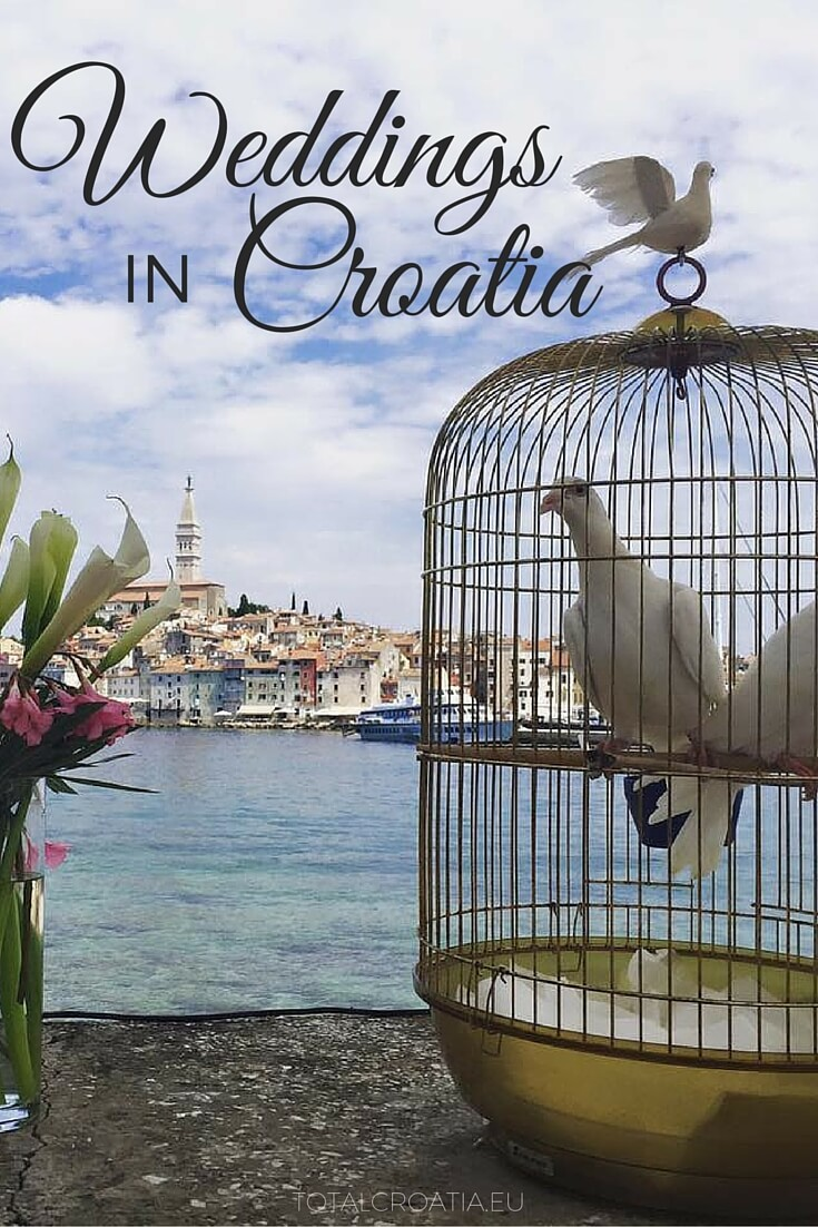 Wondering which place to pick for your destination wedding? Croatia's selection will have you in awe! | totalcroatia.eu #WEDDING #TRAVEL