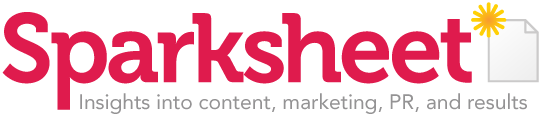 Sparksheet.com  - Good ideas about content, media and marketing