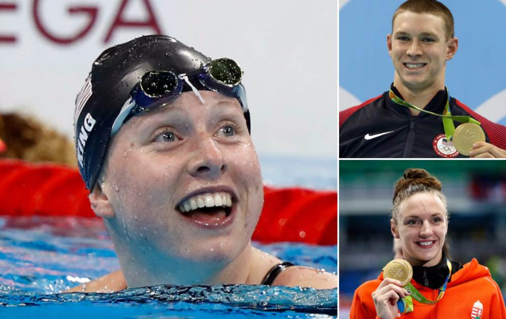 Two more golds for USA, Michael Phelps eases into 200m butterfly final, Katinka Hosszu takes second gold