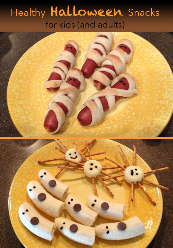Healthy Halloween Snacks Your Kid Can Help Make | www.mommysanest.com