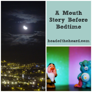 Bilingual Child bedtime story