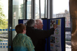 Kevin Barton explains BARS to Minister Deenihan at the TOTP launch. Philippa Barry 2013