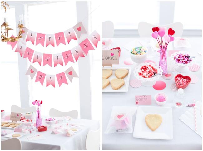 Valentine's Day Party Via Armelle Blog