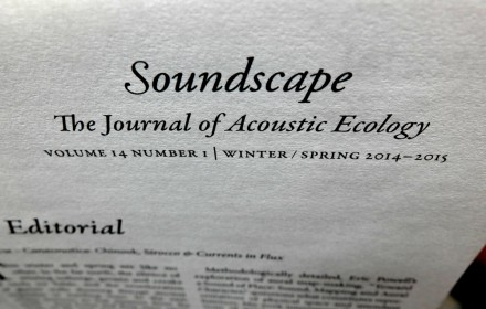 Soundscape Journal 14:1 - 04