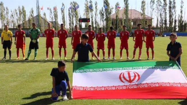 Iran-U17- soccer team