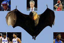 Guano - bat poop - was discovered to be a fabulous fertilizer and helped grow crops to feed millions. Sometimes human adaptation of nature leads to positive innovation. 76ers coach Brett Brown (middle top) has an odd mix of talented players. Barring trades, columnist Mike Sielski suggests, Brown might find a way to make that odd mix work. Clockwise from top left: Ben Simmons, Brown, Dario Saric, Joel Embiid, Jahlil Okafor and Nerlens Noel.