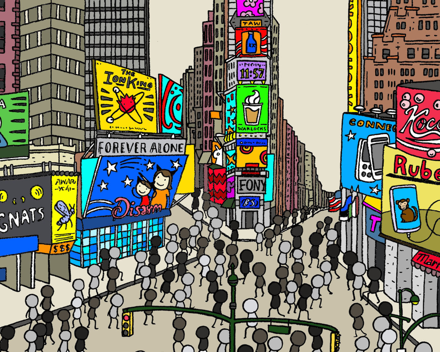 The Society of the Spectacle_Times Square_Lauren Purje