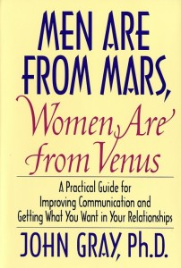 Picture of the book cover of Men are from Mars, Women are from Venus