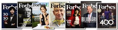From Forbes to Martha Stewart Living print is still where big shots spill their beans
